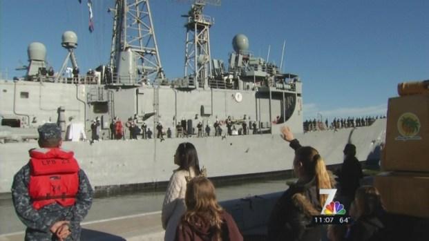 [DGO] USS Thach Deploys