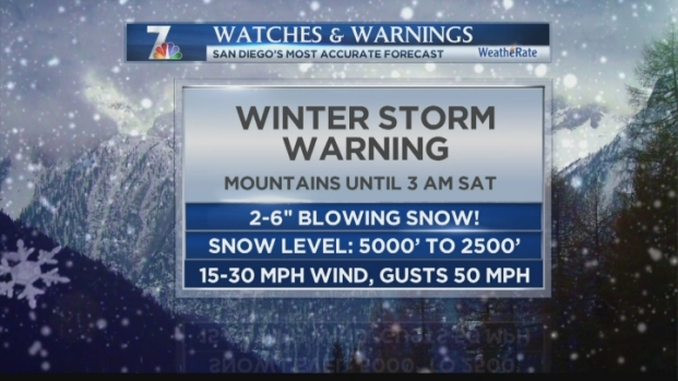 [DGO] Winter Storm in San Diego Mountains