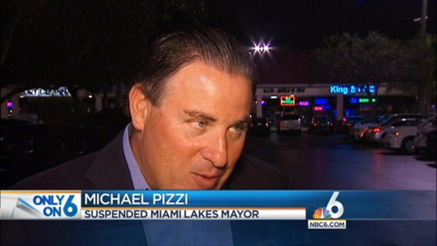 [MI] Michael Pizzi, Suspended Miami Lakes Mayor, Vows To Clear Name