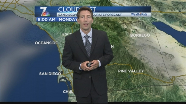 [DGO] Greg Bledsoe's Morning Forecast for Monday Aug. 13, 2012