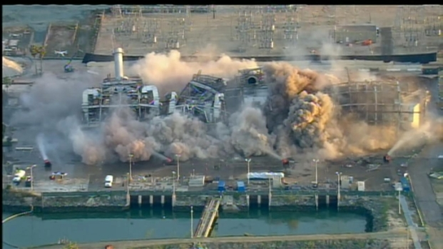 [DGO] South Bay Power Plant Implosion Raw Video
