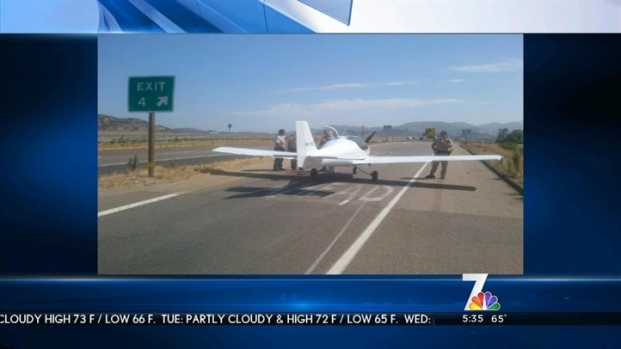 [DGO] Plane on Freeway Disrupts Traffic