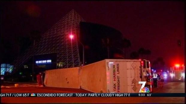 [DGO] Truck Jackknife Closes Miramar Road