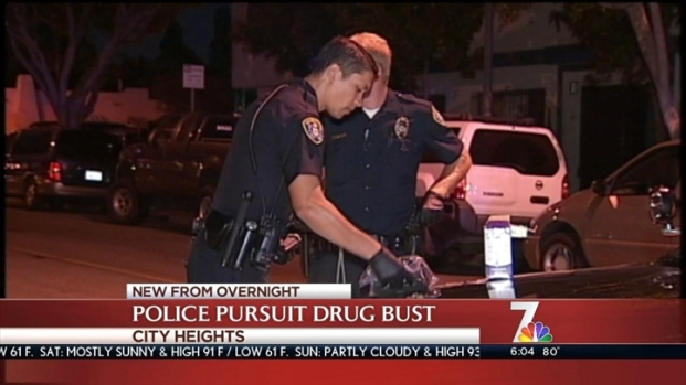 [DGO] Suspect Crashes in Pursuit, Pot Seized
