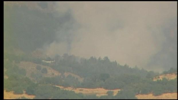 [DGO] Brush Fire Prompts Evacuations Near Julian
