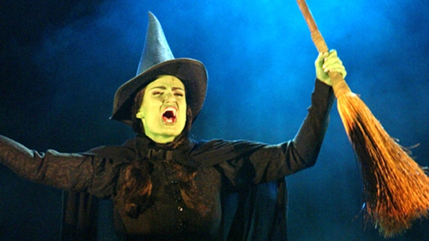'Wicked' Sets Up in San Diego