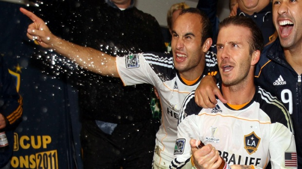 Beckham, Donovan Lead Galaxy to MLS Cup Win