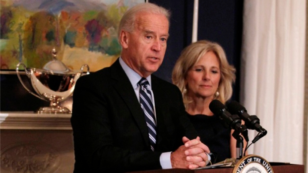VP Biden and Second Lady Visit Troops