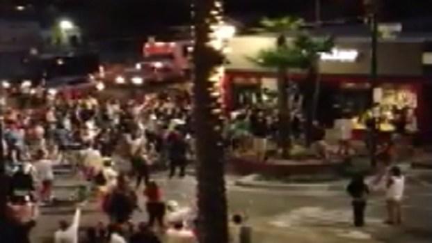 [LA] Caught on Video: Huntington Beach Violence Outside Bike Shop