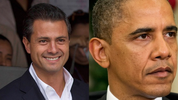 [DGO]Obama, Nieto Discuss U.S.-Mexico Relations