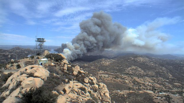 Images: Brush Fire Prompts Evacuations Near Jamul