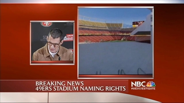 [BAY] RAW VIDEO: Levi's Wants Rights to New 49er Stadium