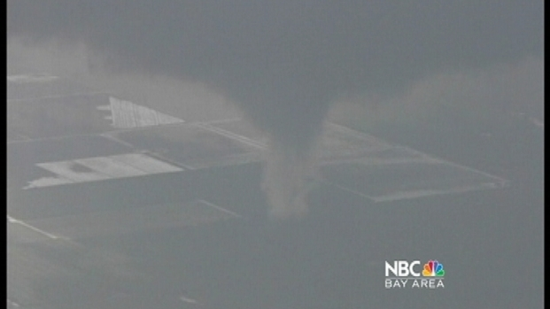 [BAY] 7 California Tornadoes: Jeff Ranieri Has Rare Helicopter Views.