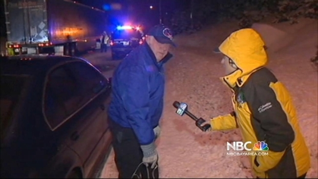 [BAY] Snow Making Roads Tough to Handle