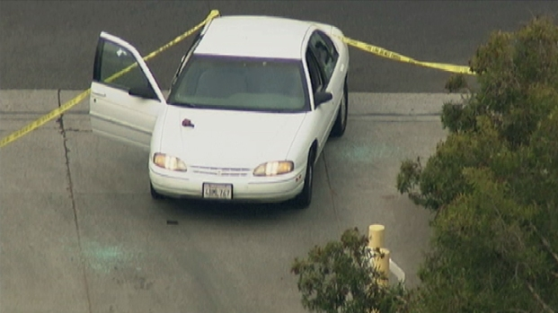 Gunman Sought in LAPD Detectives Ambush