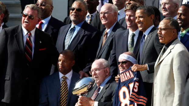 [CHI] '85 Bears Honored at White House