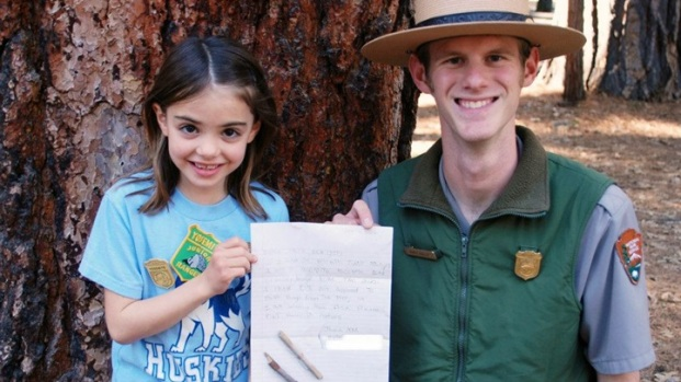 Yosemite Welcomes Girl Who Returned Sticks