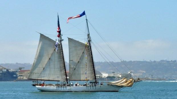 Sailing Into San Diego