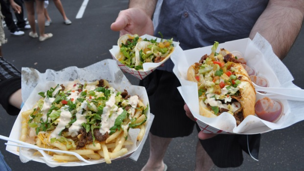 Foodies Rush to Food Truck Festival