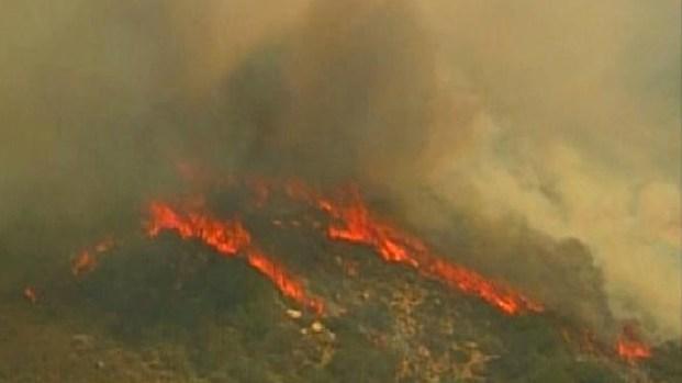 Camp Pendleton Brush Fire