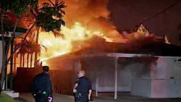 [DGO] Woman Survives Blazing House Fire