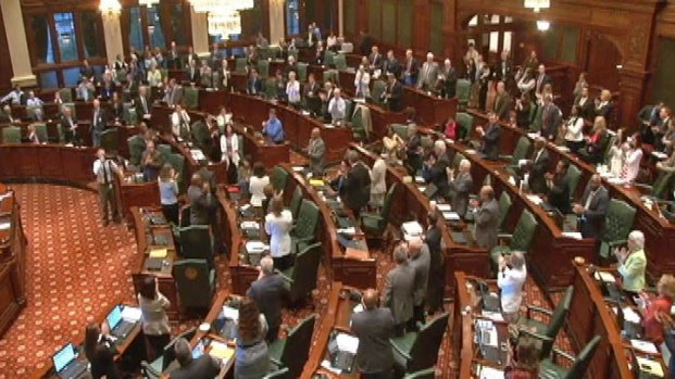 [CHI] Lawmakers End Session With Unfinished Business