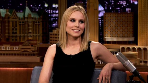 "[NATL] Kristen Bell Talks About ""Frozen""'s Success on ""The Tonight Show"""
