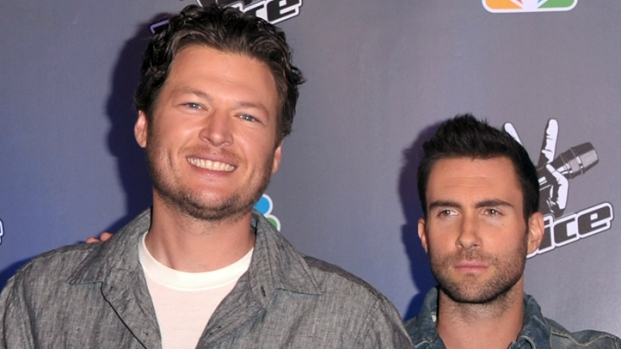 "[NATL] Adam Levine and Blake Shelton Talk ""The Voice"""