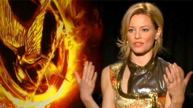 "[NATL] Elizabeth Banks Portrays Effie In ""The Hunger Games"""