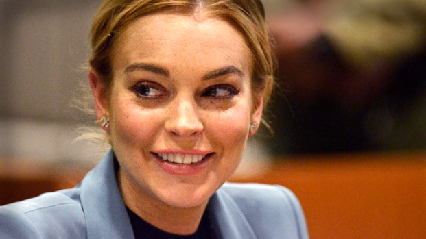 [LA] Lindsay Lohan Thanks Judge as Probation Terms End