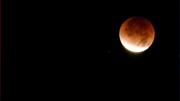 Lunar Eclipse Brightens SD Skies