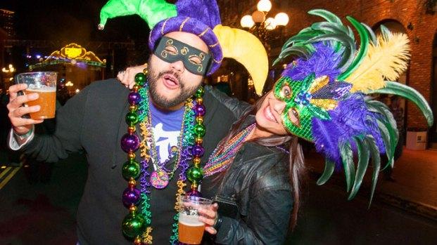 Mardi Gras Celebration to Heat Up San Diego's Gaslamp ...