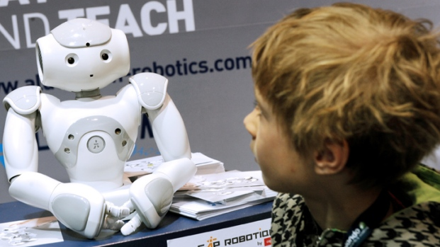[NATL] Robots Join the Fight Against Autism