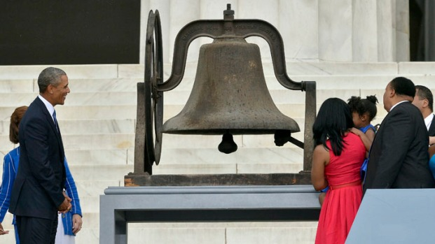 [NATL] Bells Ring Around the Nation in Memory of MLK