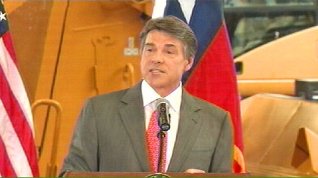 [DFW] Perry Announces He Will Not Run for Re-Election