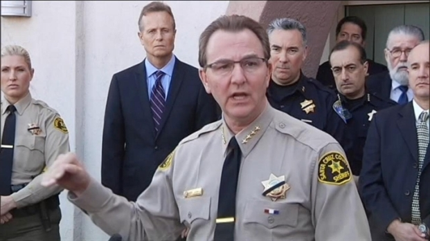 [BAY] Raw Video: Santa Cruz County Sheriff Phil Wowak