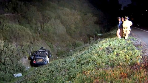 [DGO] Car Rolls Down 50 Foot Embankment