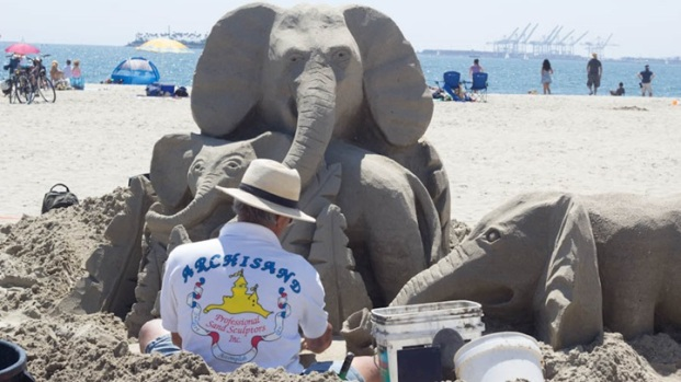 Long Beach Weekend: Great Sand Sculptures