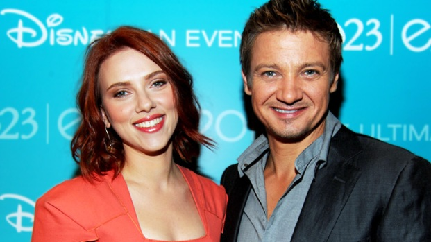 "[NBCAH] Jeremy Renner and Scarlett Johansson on the Coolest ""Avengers"" Costume"