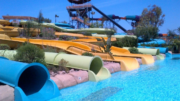 Inside Aquatica Water Park