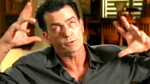 "[NEWSC] Charlie Sheen: ""You Can't Process Me With A Normal Brain"""