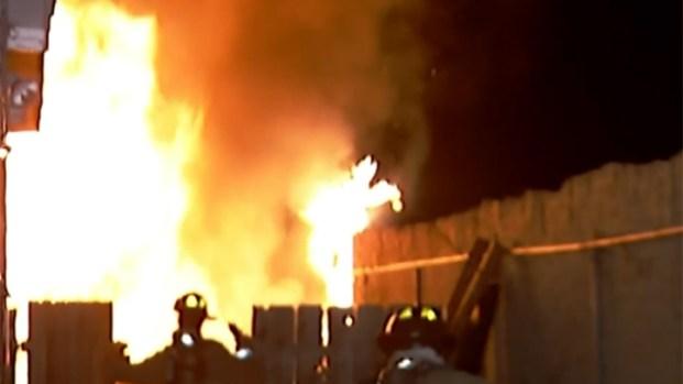 [DGO] Flames Overtake Southcrest Garage