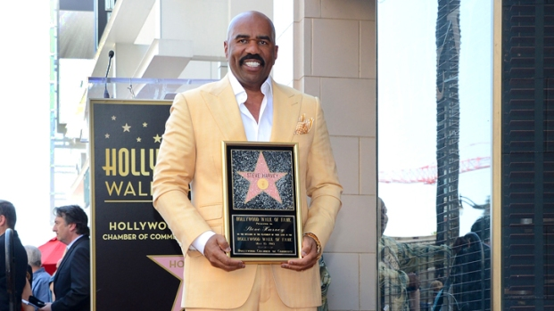 [NBCAH] Steve Harvey gets Hollywood Walk of Fame Star