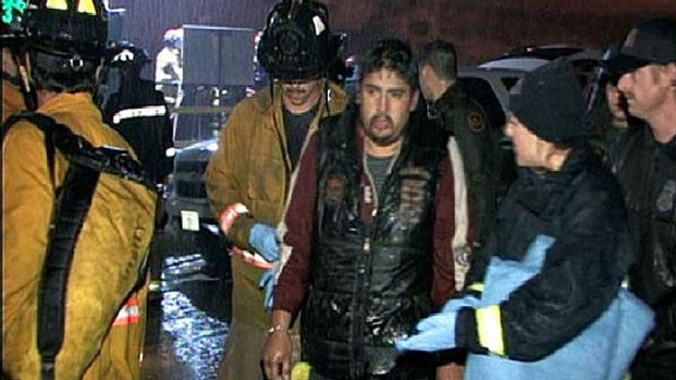Suspected Illegal Immigrant Rescued from Storm Drain