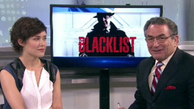 [DGO]The Blacklist Star Megan Boone Visits NBC 7