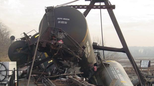 Train Derails in Paulsboro, Spills Chemicals