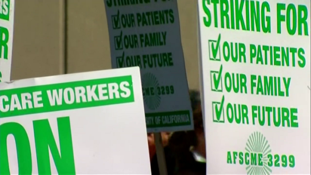 [DGO] Workers Strike at Local UC Hospitals