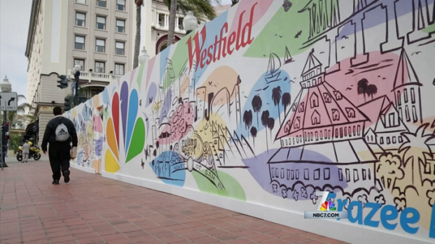 [DGO] Young Artists Create Mural at Horton Plaza