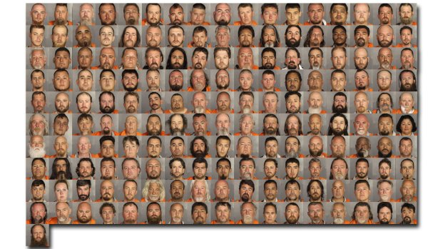 Texas Biker Gang Mug Shots