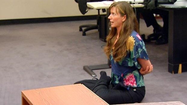 [DGO] Yoga Pose Demo in Encinitas School Lawsuit